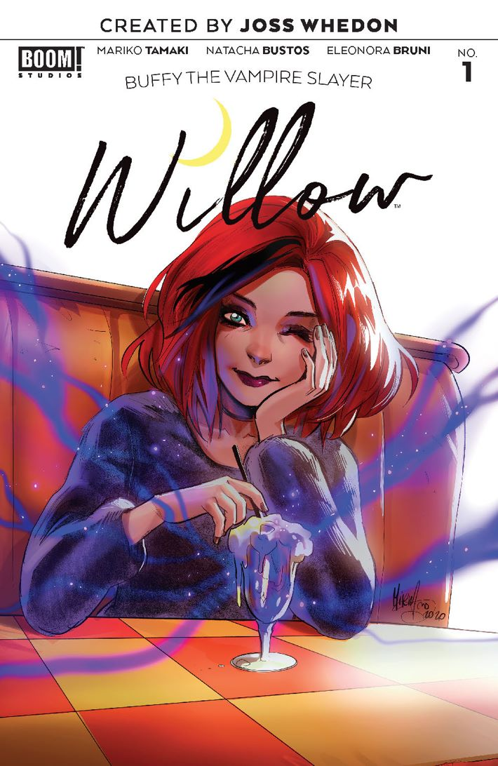 Willow_001_Cover_Variant_Andolfo_LOW ComicList Previews: BUFFY THE VAMPIRE SLAYER WILLOW #1