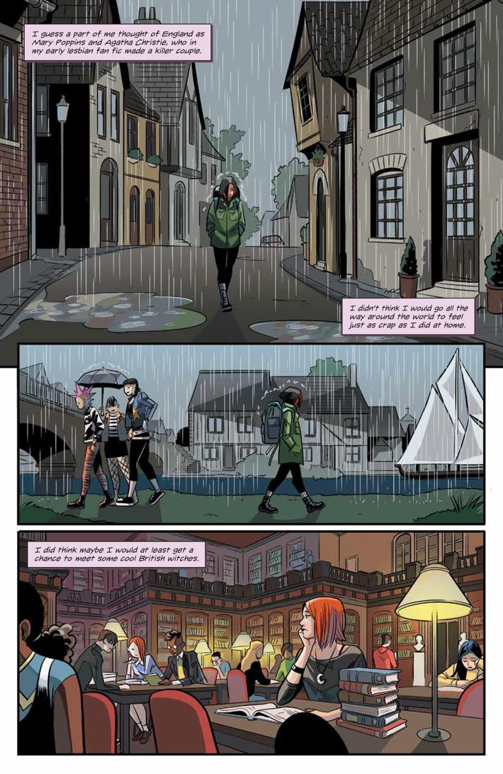 Willow_001_PRESS_6 ComicList Previews: BUFFY THE VAMPIRE SLAYER WILLOW #1