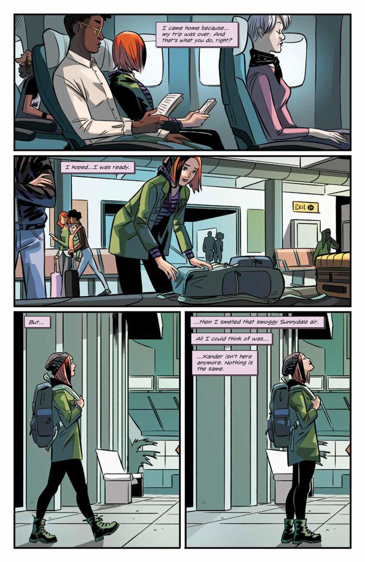 Willow_001_PRESS_8 ComicList Previews: BUFFY THE VAMPIRE SLAYER WILLOW #1