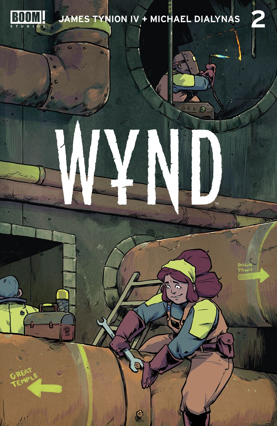 Wynd_002_Cover_Main ComicList Previews: WYND #2