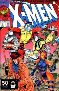 X-Men-1-1991-Gambit-193x300 The Record-Setting X-Men #1