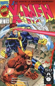 X-Men-1-1991-Wolverine-194x300 The Record-Setting X-Men #1