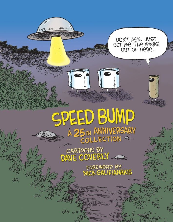 speed-bump-preview-1 ComicList Previews: SPEED BUMP A 25TH ANNIVERSARY COLLECTION HC