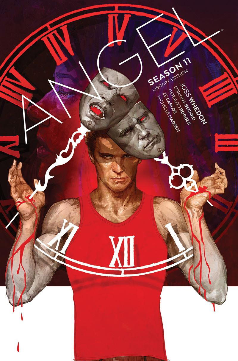 Angel_Season11_HC_Cover ComicList Previews: ANGEL SEASON 11 LIBRARY EDITION HC