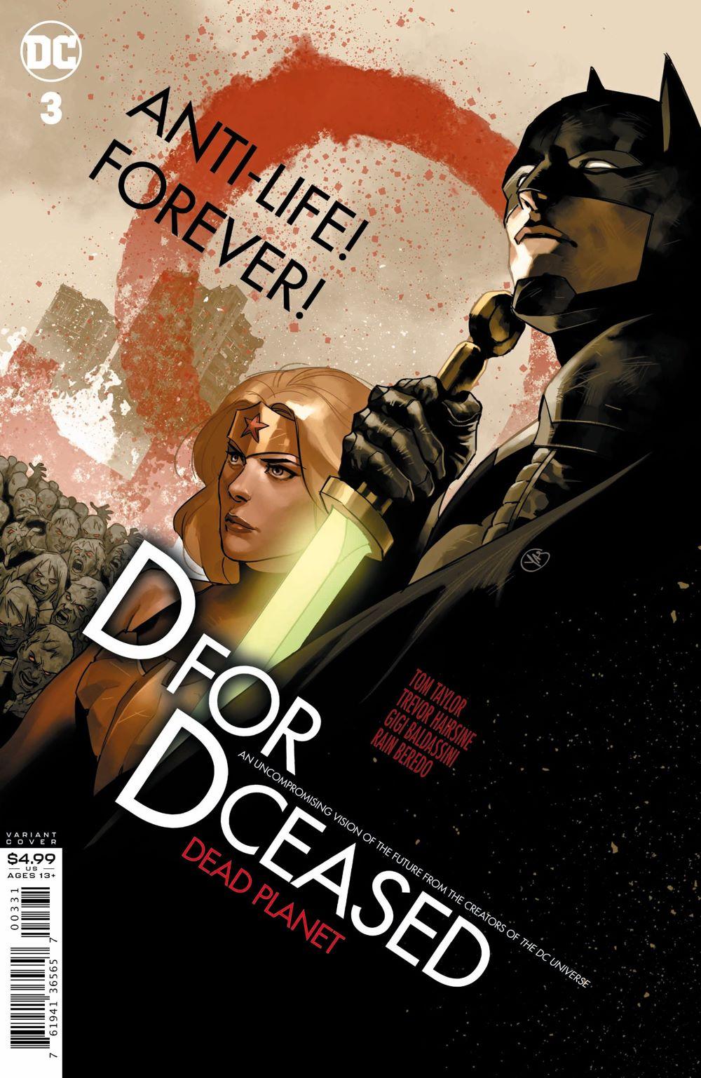 DCeased-DEADPLANET-Cv3-homage ComicList Previews: DCEASED DEAD PLANET #3