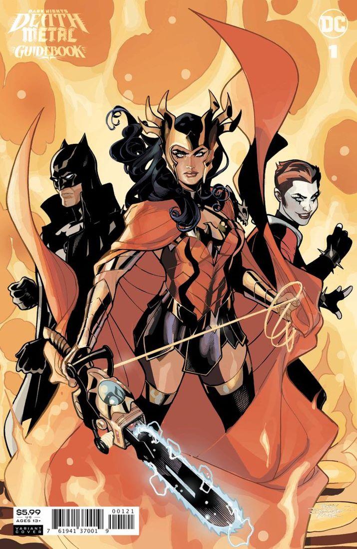 DNDM-GUIDEBOOK-Cv1-var ComicList Previews: DARK NIGHTS DEATH METAL GUIDEBOOK #1