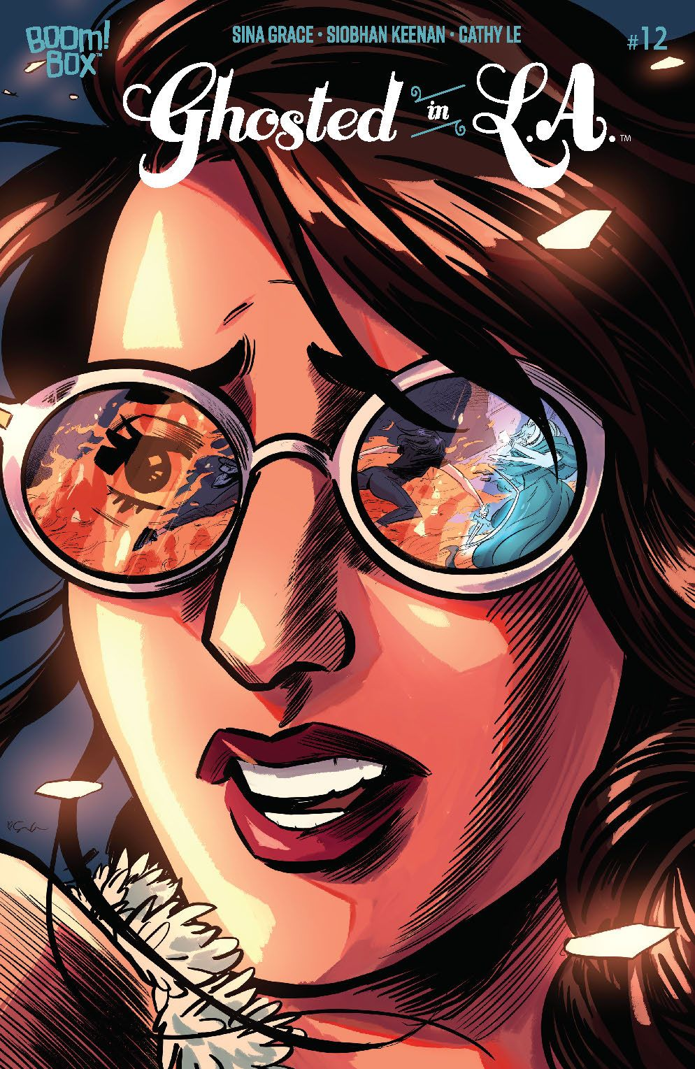 GhostedinLA_012_Cover_Variant ComicList: BOOM! Studios New Releases for 08/26/2020