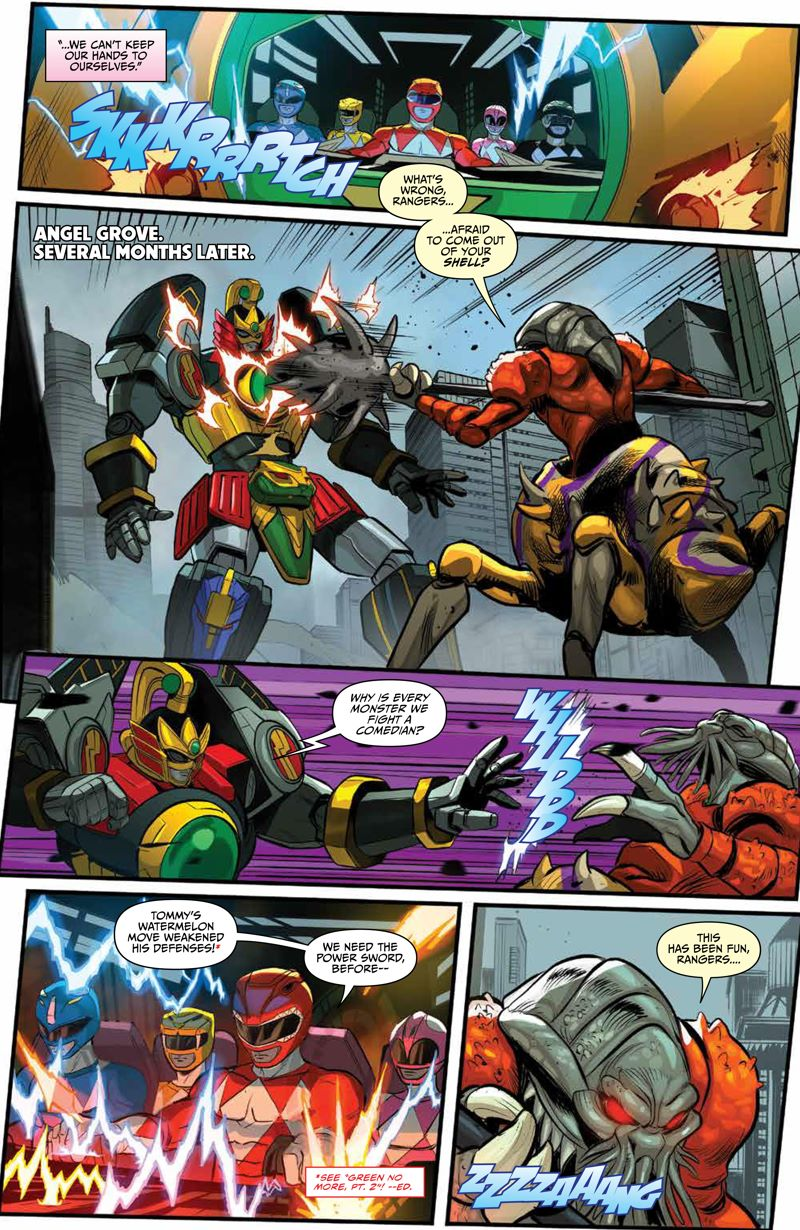 GoGoPowerRangers_v7_SC_PRESS_12 ComicList Previews: SABAN'S GO GO POWER RANGERS VOLUME 7 TP