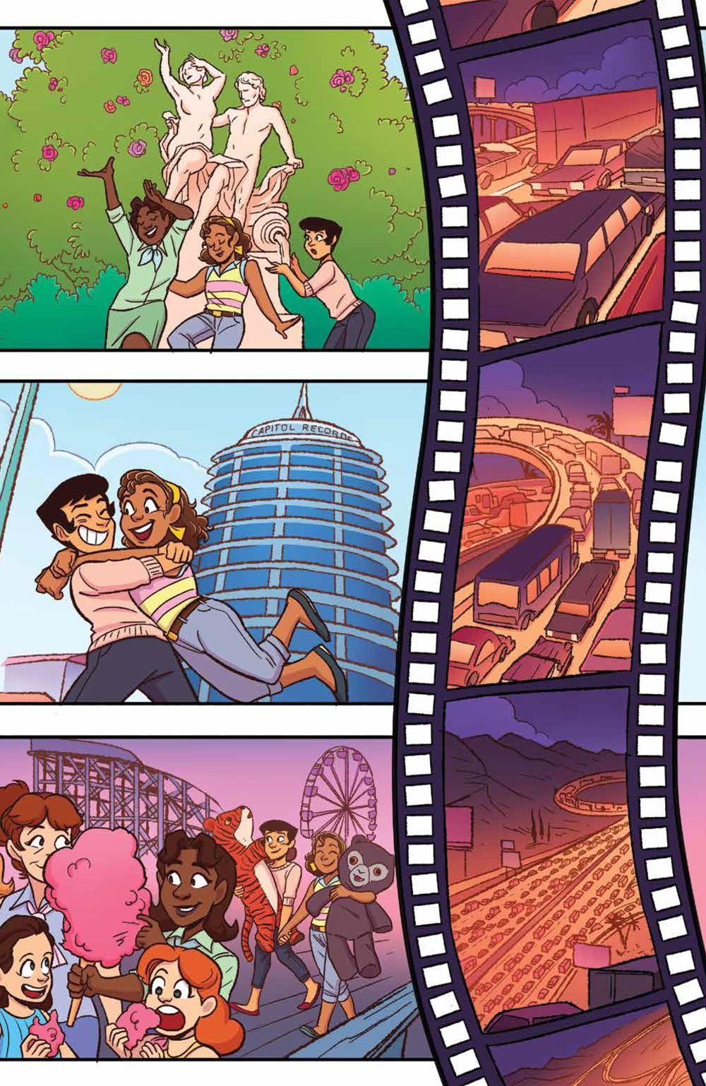 GoldieVance_OGN_LaLaLarceny_SC_PRESS_15 ComicList Previews: GOLDIE VANCE VOLUME 5 LARCENY IN LA LA LAND TP
