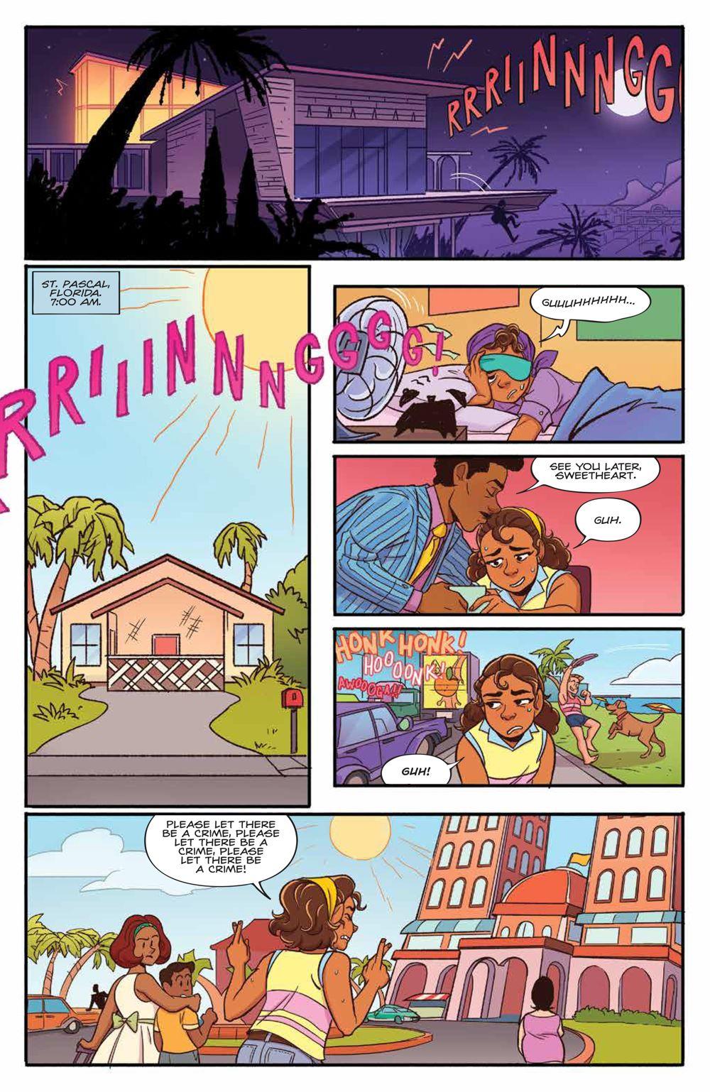 GoldieVance_OGN_LaLaLarceny_SC_PRESS_8 ComicList Previews: GOLDIE VANCE VOLUME 5 LARCENY IN LA LA LAND TP