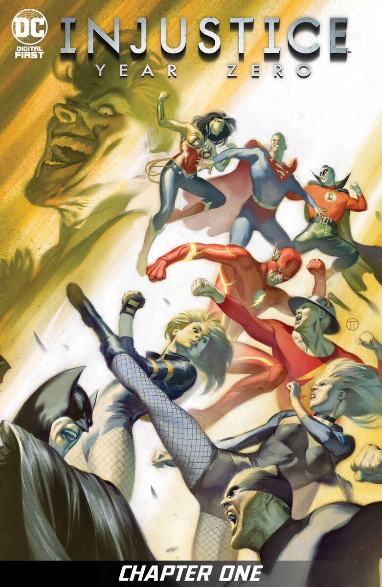 INJYZERO-01_SF_5f2889c47da828.51591234_5f28958e87b236.69537199 Tom Taylor to write Injustice: Gods Among Us prequel INJUSTICE: YEAR ZERO