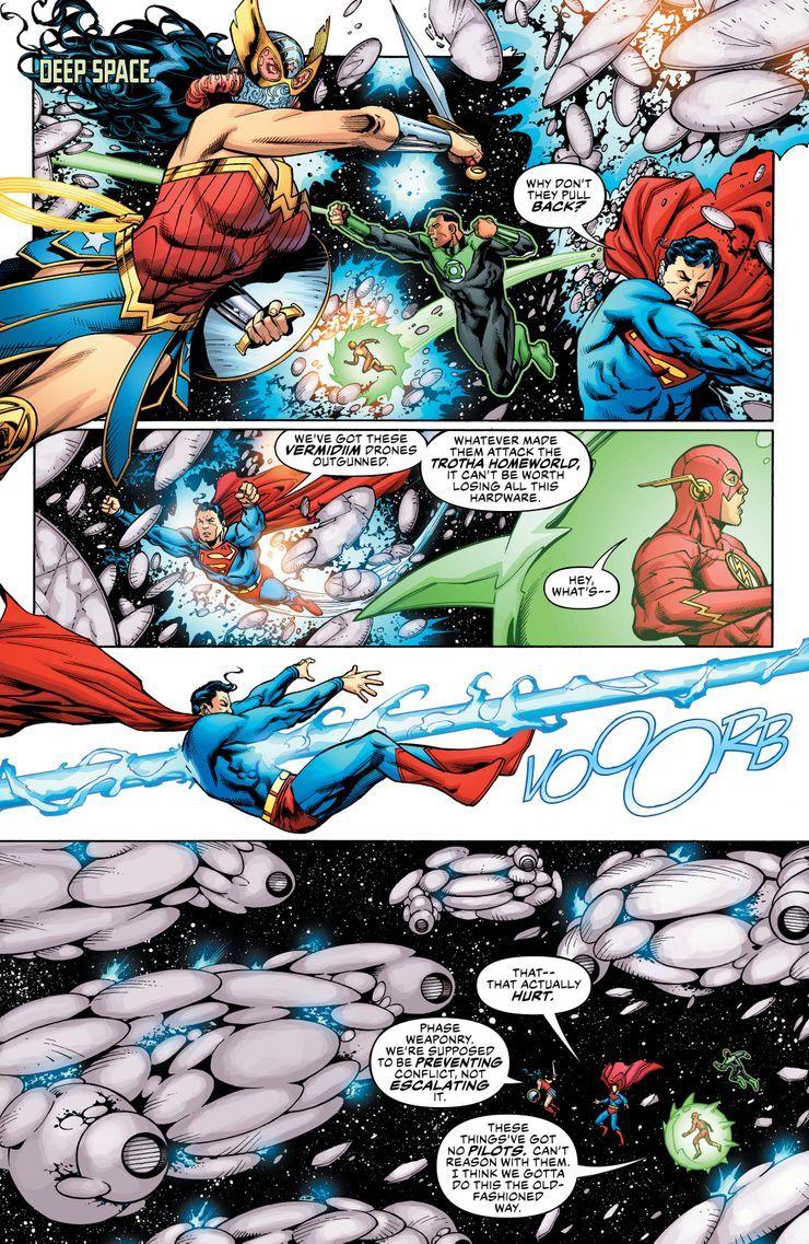 JL-50-1 ComicList Previews: JUSTICE LEAGUE #50