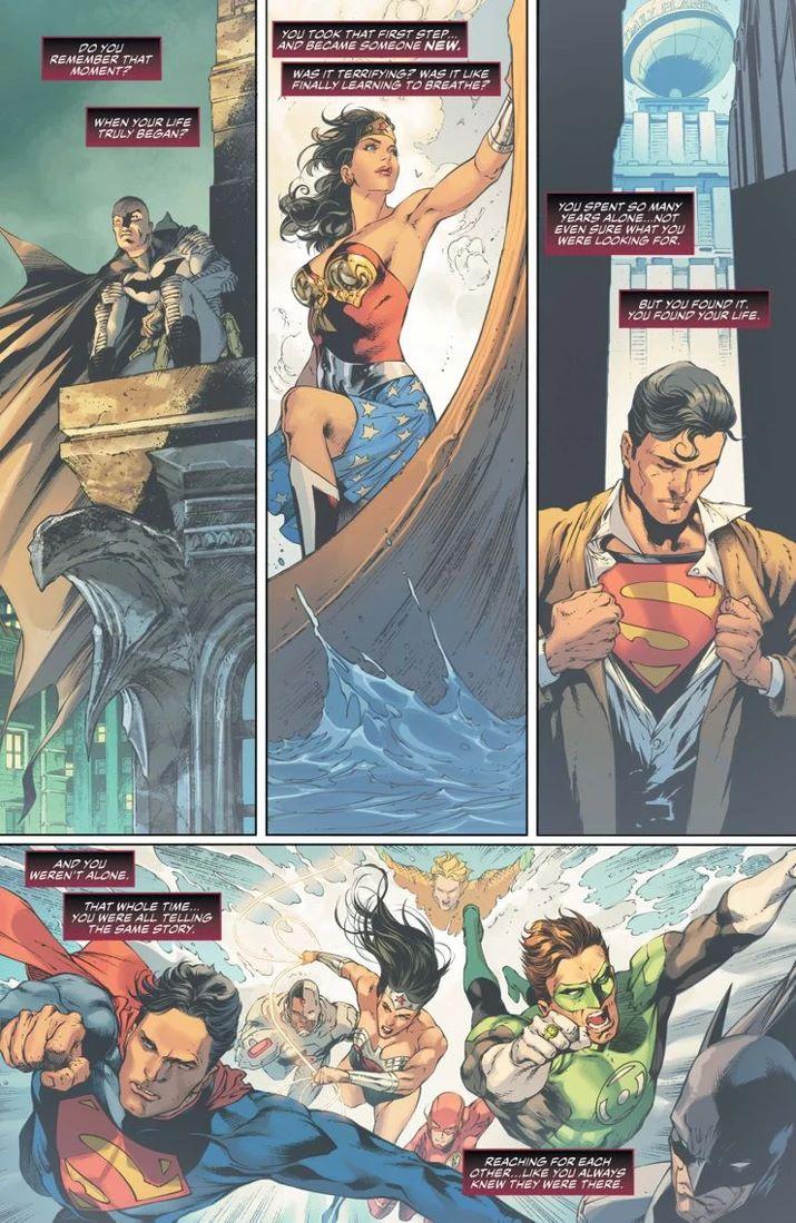 JL-51-1 ComicList Previews: JUSTICE LEAGUE #51