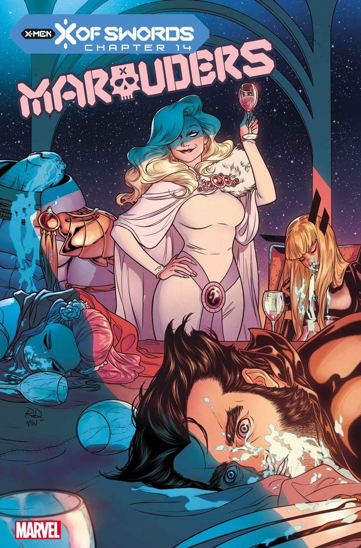 MARAUDERS2019015_cov Marvel Comics releases November X OF SWORDS covers