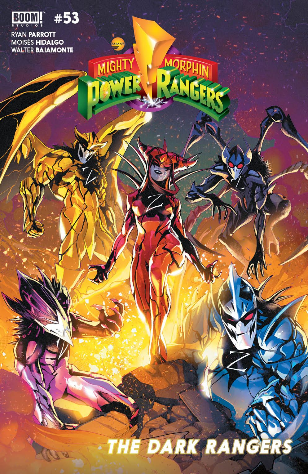MMPR_053_Cover_Main ComicList: BOOM! Studios New Releases for 08/26/2020