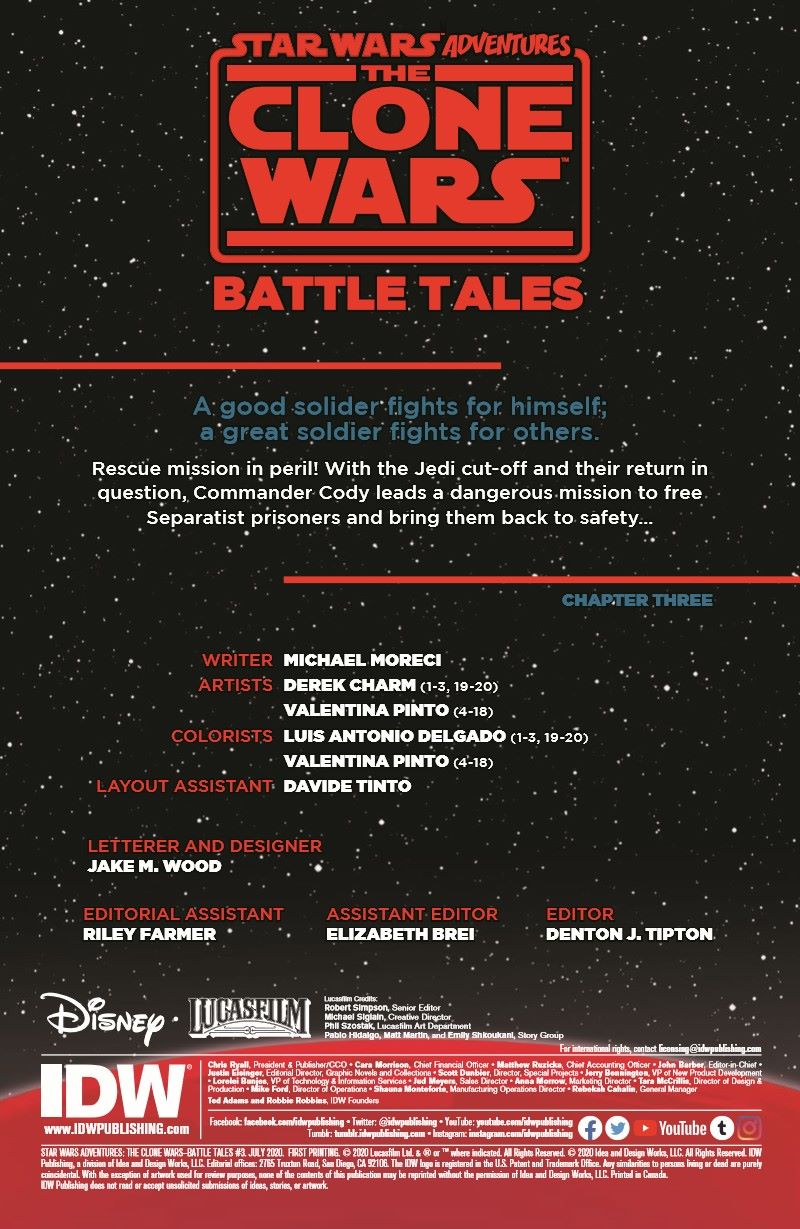 SWCloneWars-03-pr-2 ComicList Previews: STAR WARS ADVENTURES THE CLONE WARS BATTLE TALES #3