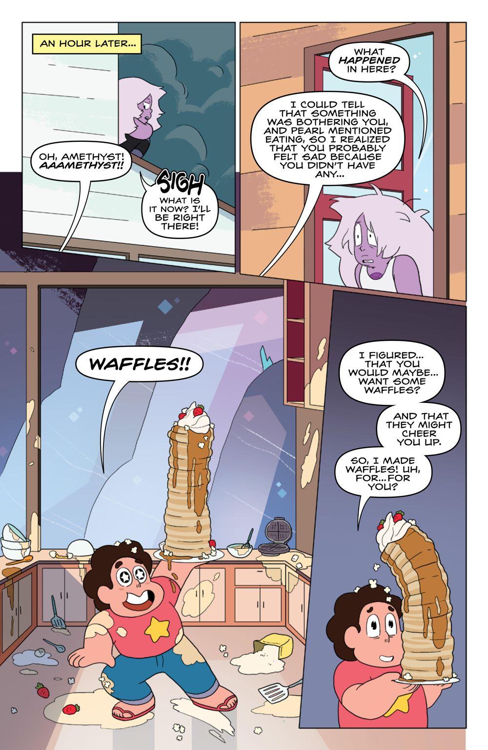 StevenUniverse_v8_SC_PRESS_11 ComicList Previews: STEVEN UNIVERSE VOLUME 8 TO BE HAPPY TP