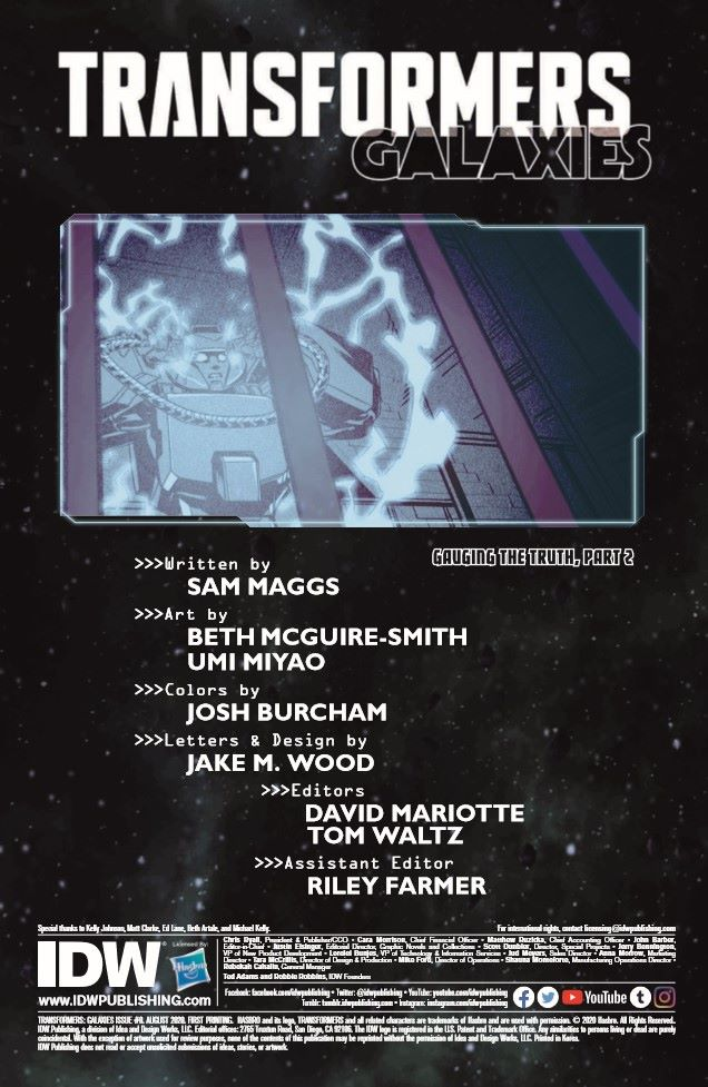 TF_Galaxies_08_preview-2 ComicList Previews: TRANSFORMERS GALAXIES #8
