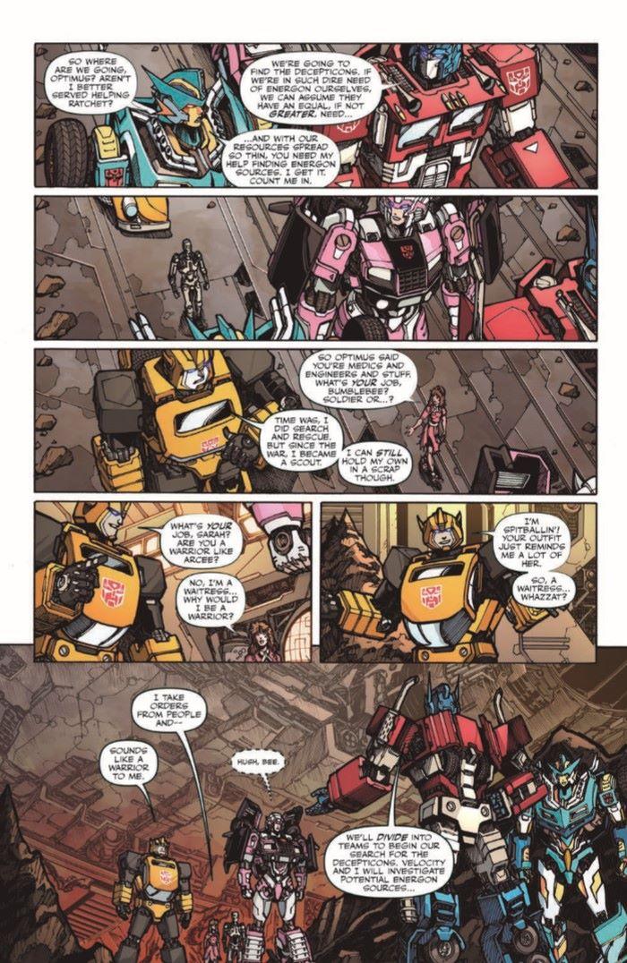 TFvTerminator-03-pr-6 ComicList Previews: TRANSFORMERS VS THE TERMINATOR #3