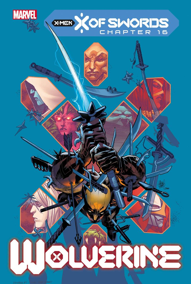 WOLV2020007_cov Marvel Comics releases November X OF SWORDS covers