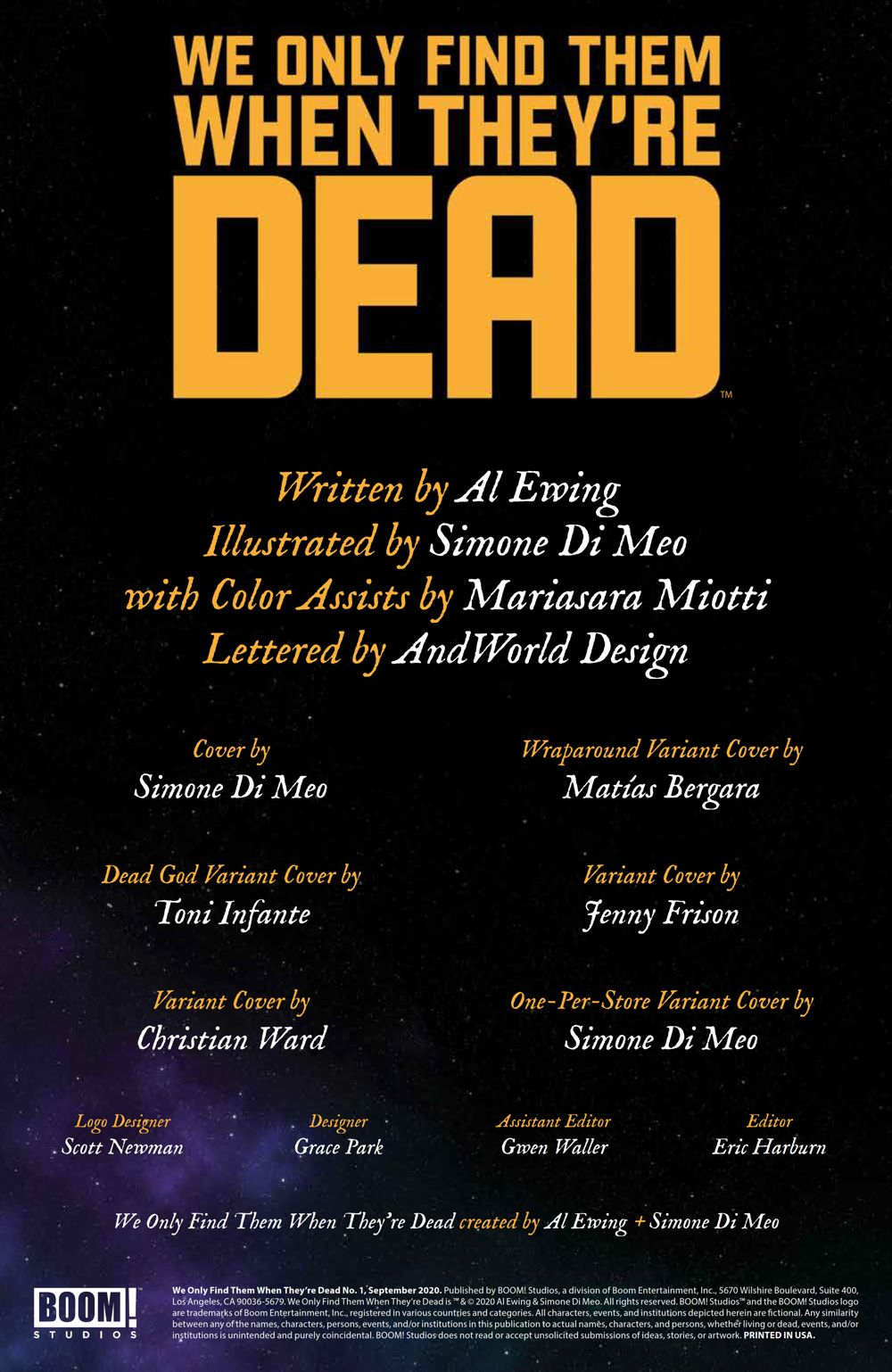 WeOnlyFindThem_001_PRESS_2 ComicList Previews: WE ONLY FIND THEM WHEN THEY'RE DEAD #1