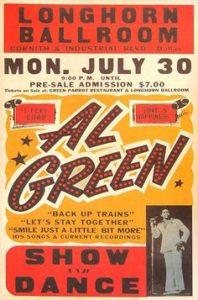 al-green-198x300 Musical Genres in Concert Posters
