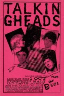 talking-heads-201x300 Musical Genres in Concert Posters