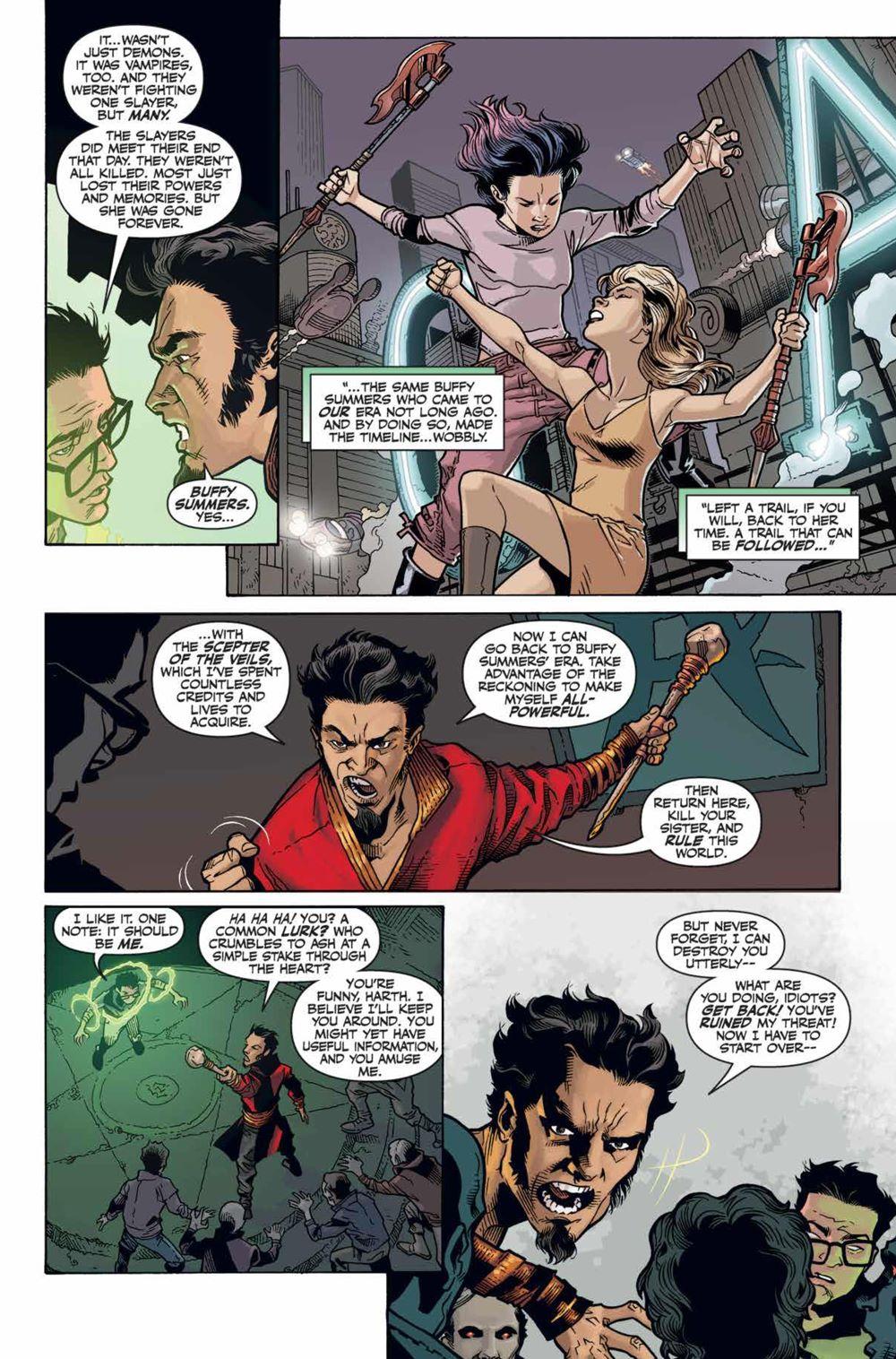 Buffy_Season12_HC_PRESS_112 ComicList Previews: BUFFY THE VAMPIRE SLAYER SEASON 12 LIBRARY EDITION VOLUME 1 HC