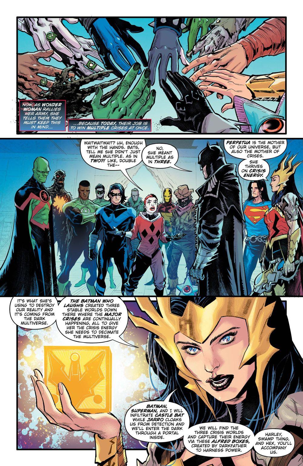 DNDM-TRINITY-CRISIS-4 ComicList Previews: DARK NIGHTS DEATH METAL TRINITY CRISIS #1
