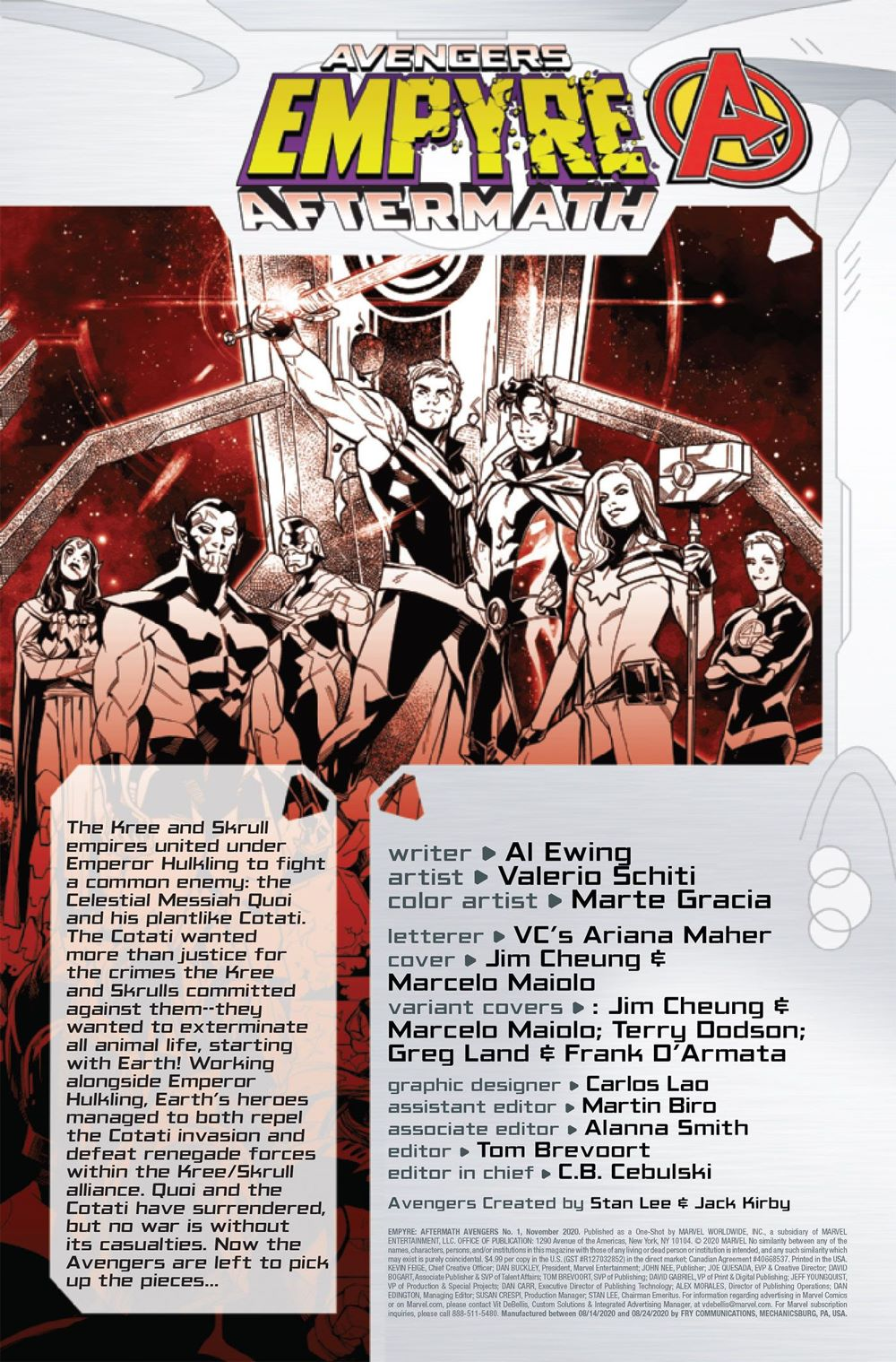EMPYREAFTERAVEN2020001-Preview-2-1 ComicList Previews: EMPYRE AFTERMATH AVENGERS #1