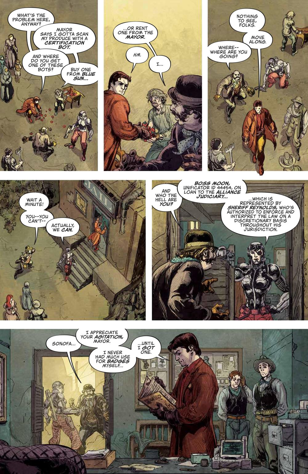 Firefly_NewSheriffVerse_v1_HC_PRESS_56 ComicList Previews: FIREFLY NEW SHERIFF IN THE 'VERSE VOLUME 1 HC