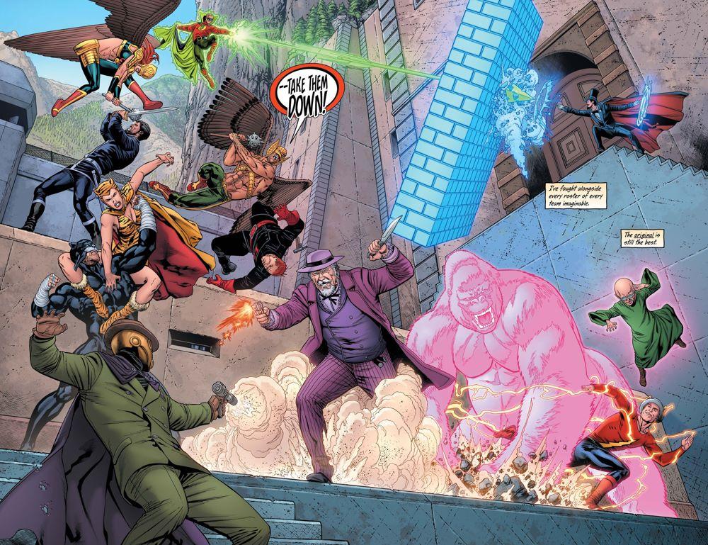 HM-27-2-3 ComicList Previews: HAWKMAN #27