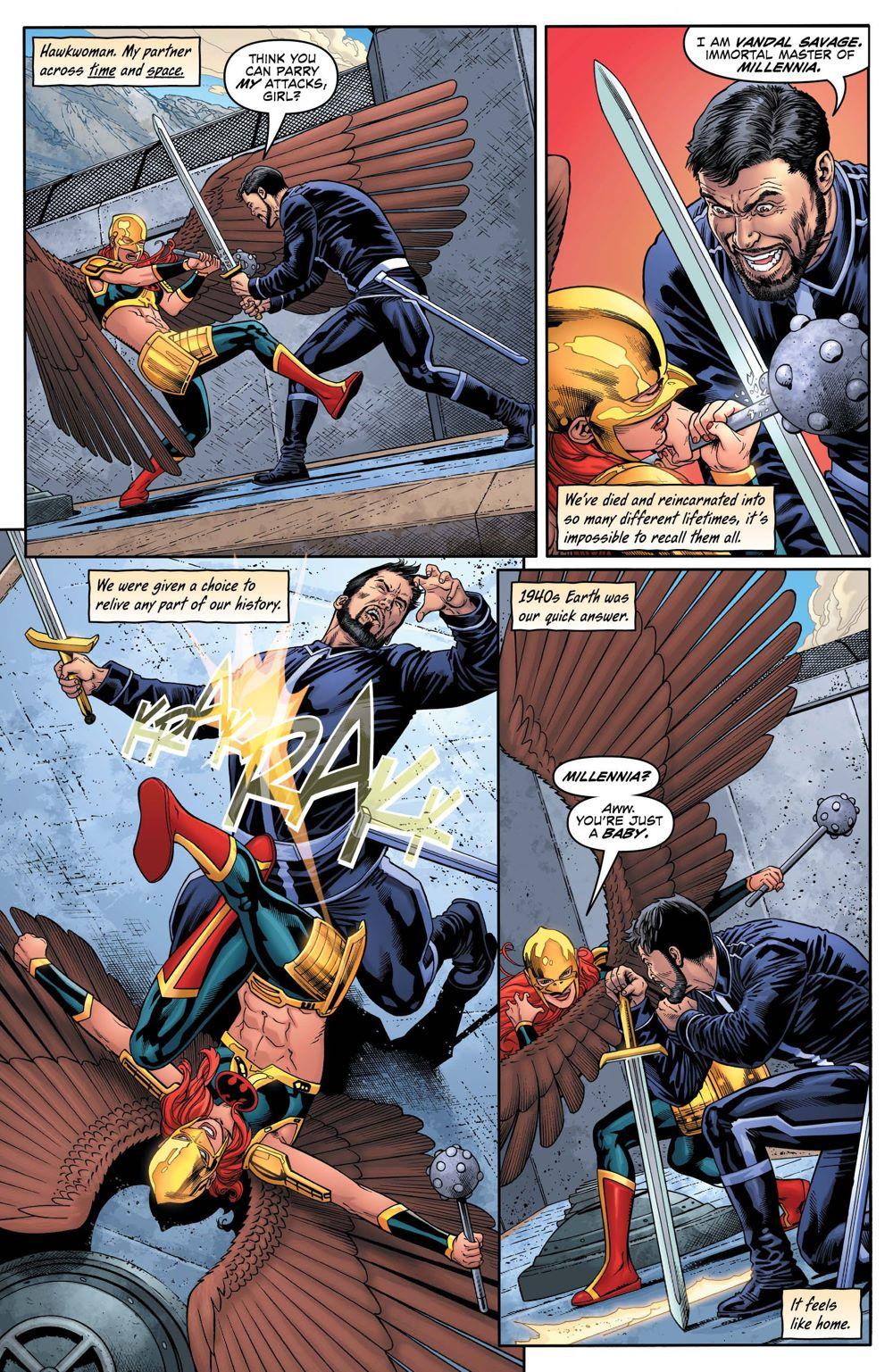 HM-27-4 ComicList Previews: HAWKMAN #27