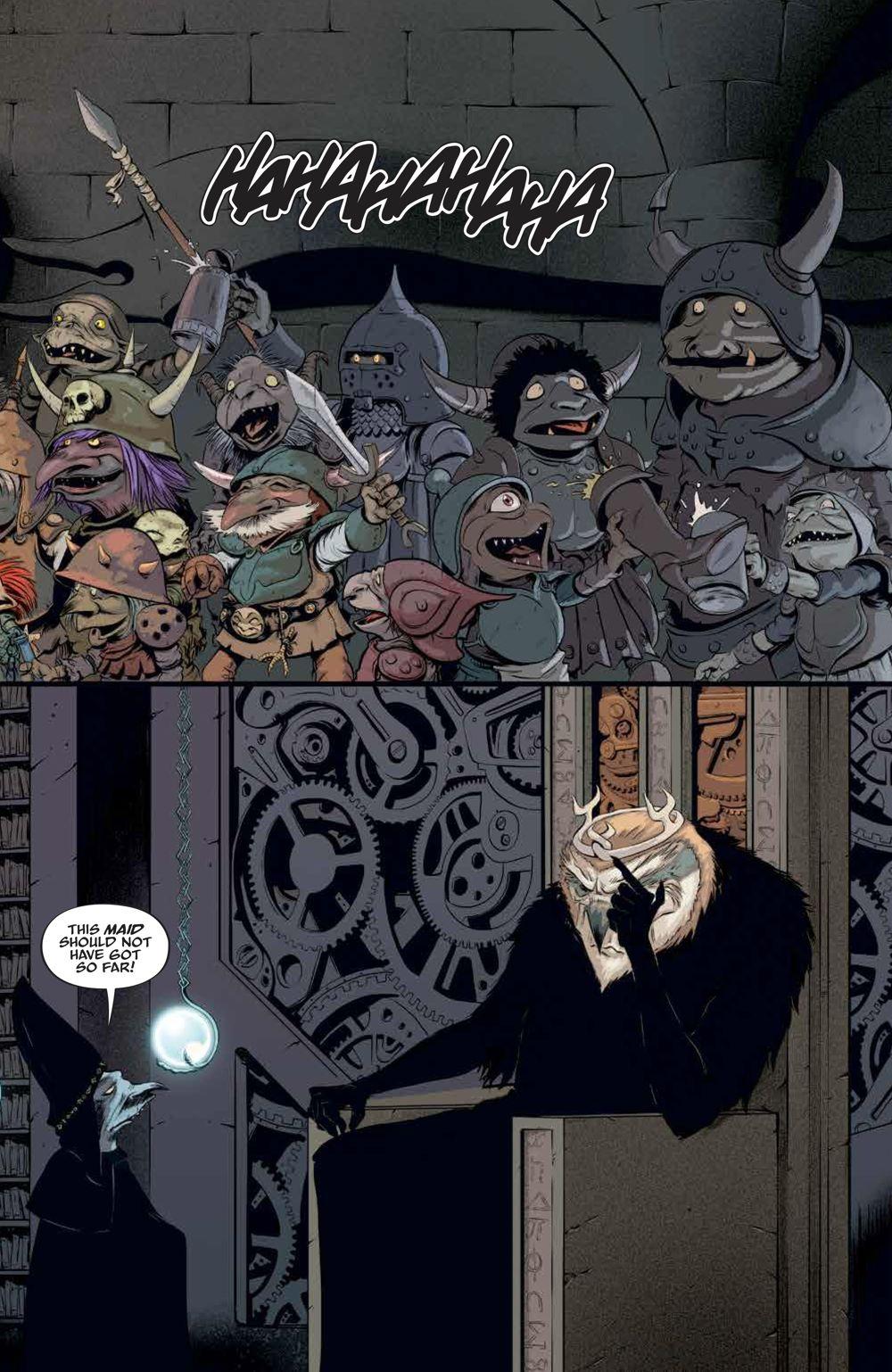 LabyrinthCoronation_v2_SC_PRESS_11 ComicList Previews: JIM HENSON'S LABYRINTH CORONATION VOLUME 2 TP