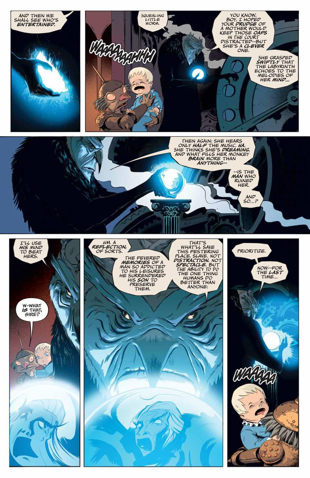 LabyrinthCoronation_v2_SC_PRESS_13 ComicList Previews: JIM HENSON'S LABYRINTH CORONATION VOLUME 2 TP