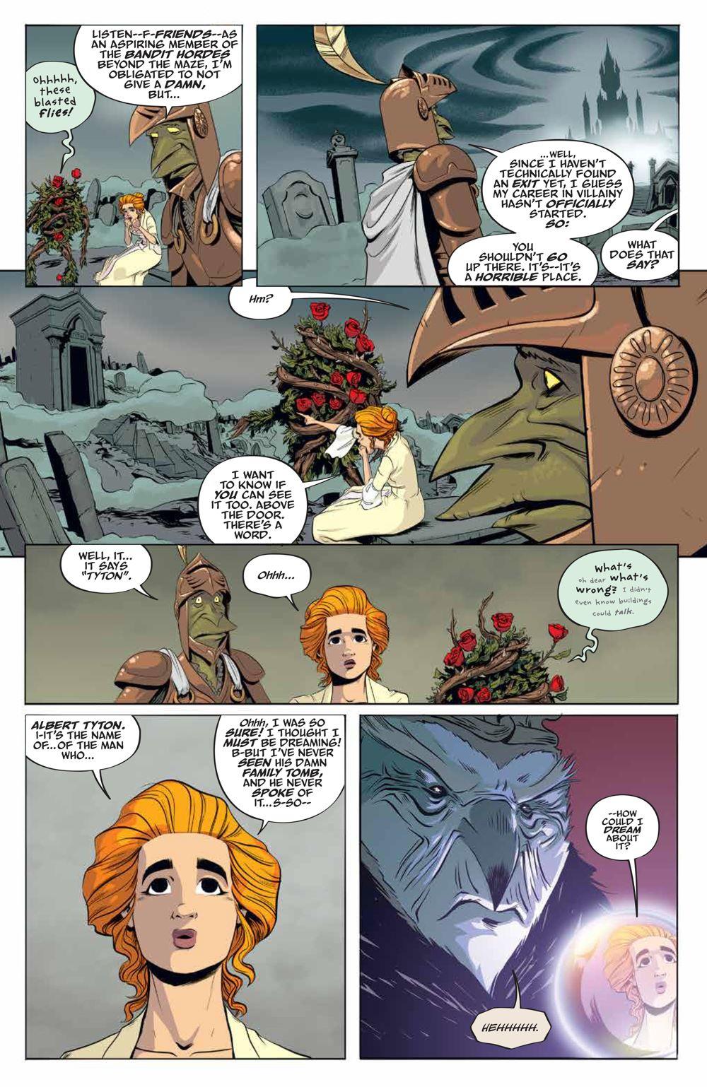 LabyrinthCoronation_v2_SC_PRESS_15 ComicList Previews: JIM HENSON'S LABYRINTH CORONATION VOLUME 2 TP