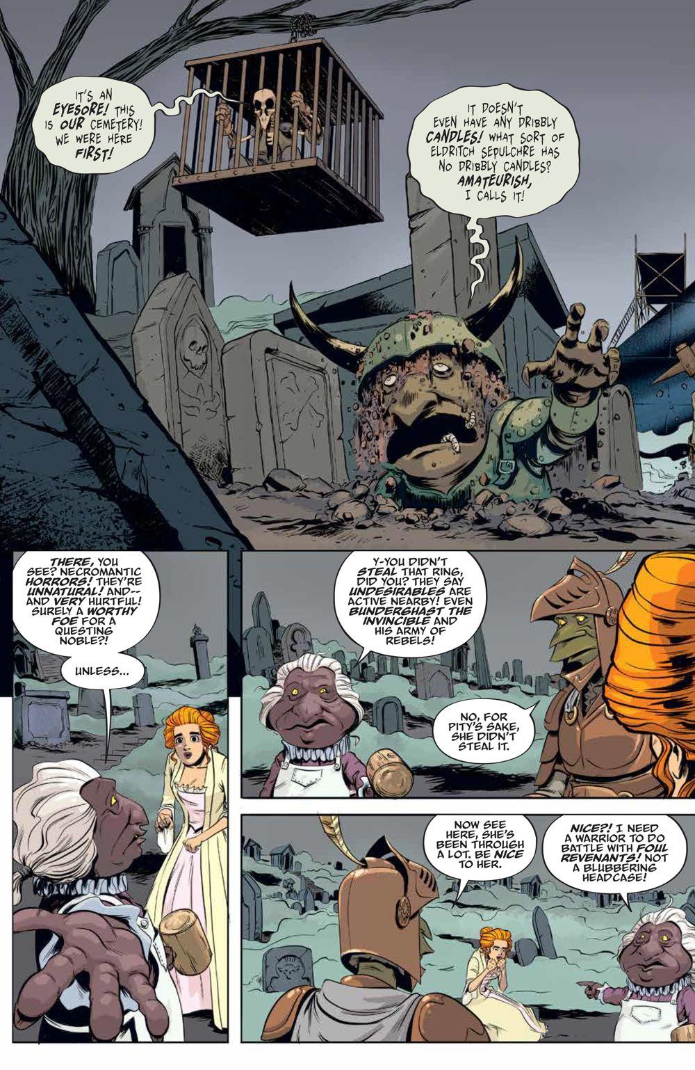 LabyrinthCoronation_v2_SC_PRESS_18 ComicList Previews: JIM HENSON'S LABYRINTH CORONATION VOLUME 2 TP