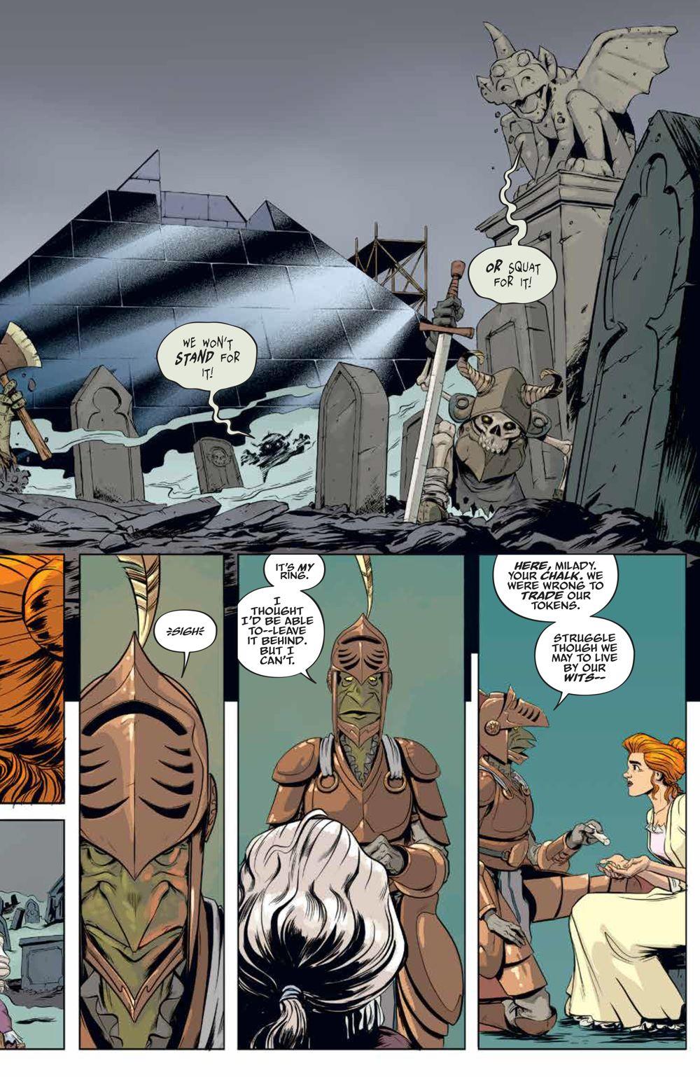 LabyrinthCoronation_v2_SC_PRESS_19 ComicList Previews: JIM HENSON'S LABYRINTH CORONATION VOLUME 2 TP