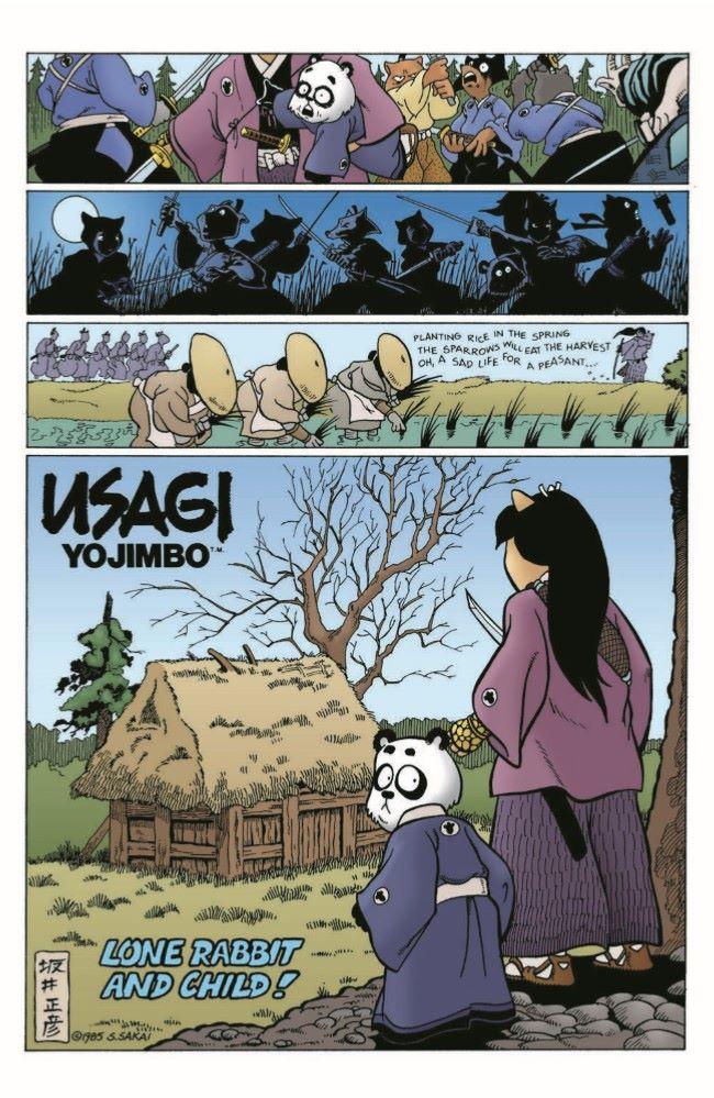 Usagi-CC07_pr-3 ComicList Previews: USAGI YOJIMBO COLOR CLASSICS #7