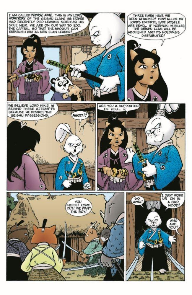 Usagi-CC07_pr-5 ComicList Previews: USAGI YOJIMBO COLOR CLASSICS #7