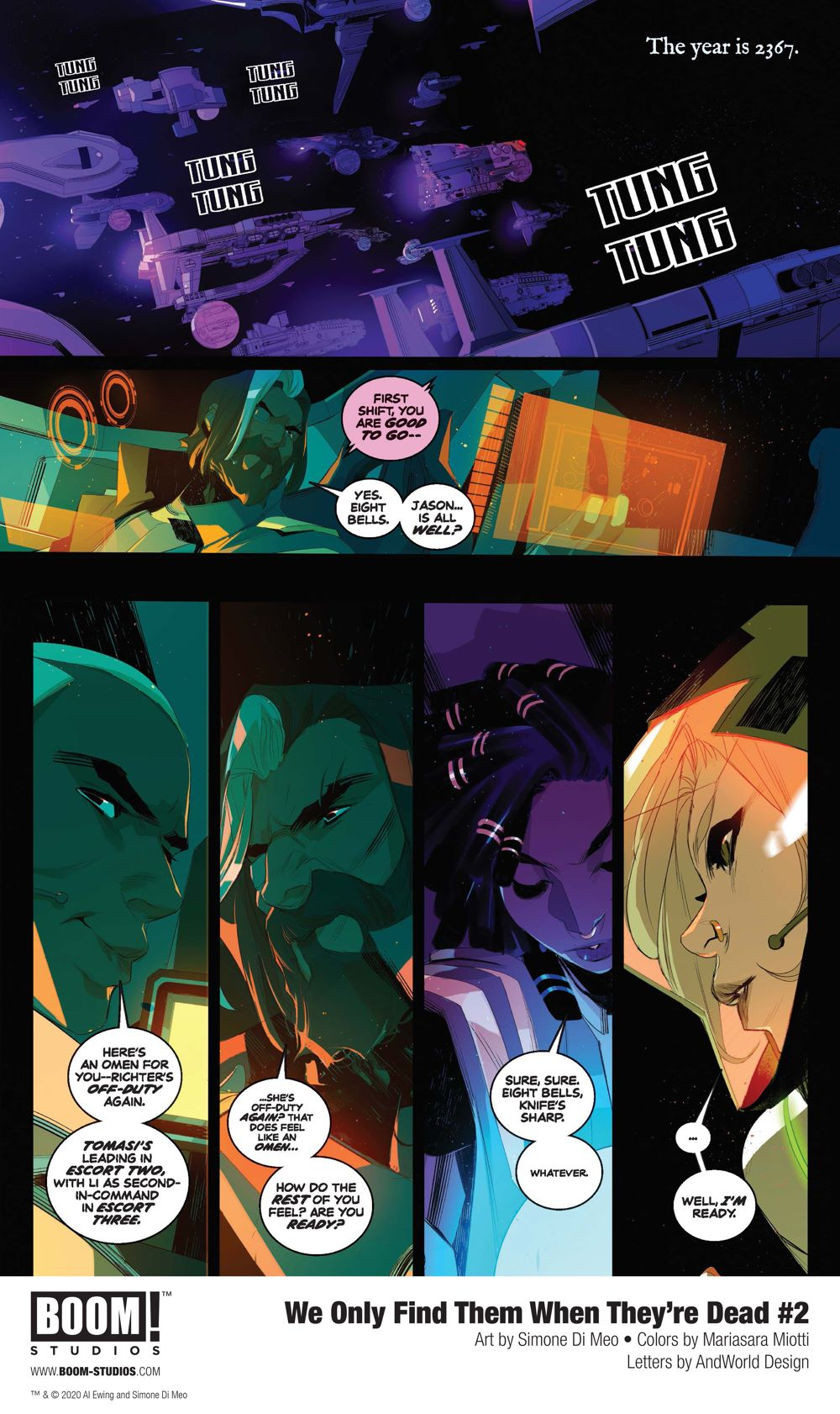 WeOnlyFindThem_002_InteriorArt_004_PROMO First Look at BOOM! Studios' WE ONLY FIND THEM WHEN THEY'RE DEAD #2