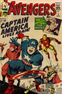 Avengers-4-198x300 Blogger Dome: Brave and the Bold #28 vs. Avengers #1