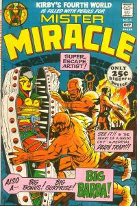 Mister-Miracle-4-1-200x300 Trends and Oddballs: Darkseid and Obnoxio the Clown