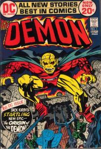 The-Demon-1-1972-204x300 Hottest Comics: X-23, Man-Wolf, and Static