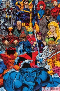 Jim-Lee-X-Men-poster-198x300 The end of DC Comics coming soon? Let's analyze the signs