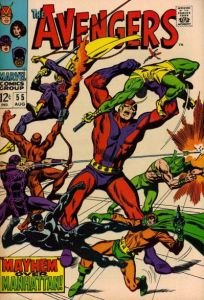 Avengers-55-204x300 Hottest Comics for 5/19: Silver Age Marvel Dominance