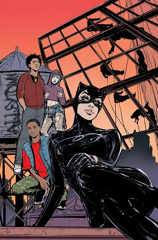 CATWOMAN-28-Cover DC Comics December 2020 Solicitations