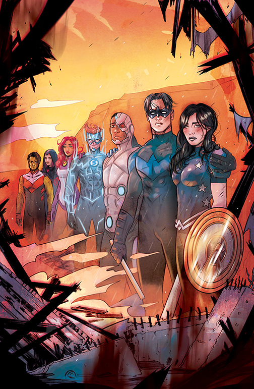 DN-DEATH-METAL_LAST-STORIES-OF-THE-DCU DC Comics December 2020 Solicitations
