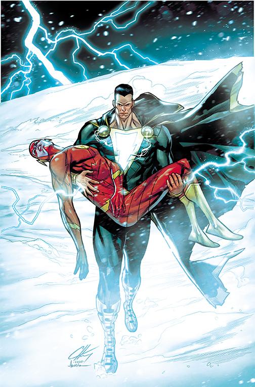 Flash_767_cover_MAIOLO DC Comics December 2020 Solicitations