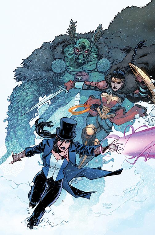 JLD-29-variant-melnikov DC Comics December 2020 Solicitations